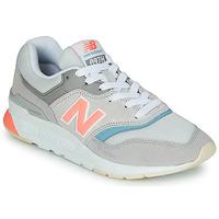 Čevlji  Ženske Nizke superge New Balance 997 Siva / Modra / Rožnata
