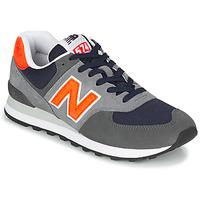 Čevlji  Moški Nizke superge New Balance 574 Siva / Oranžna