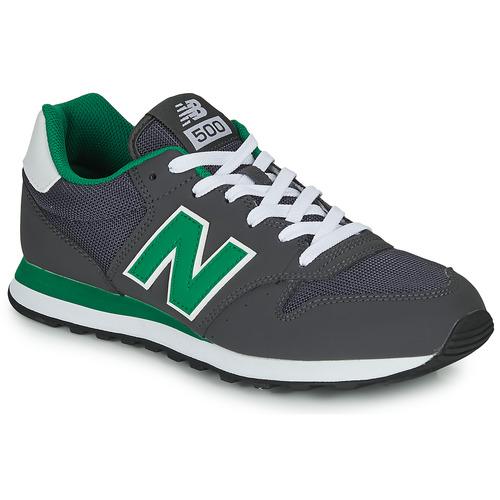 Čevlji  Moški Nizke superge New Balance 500 Siva / Zelena