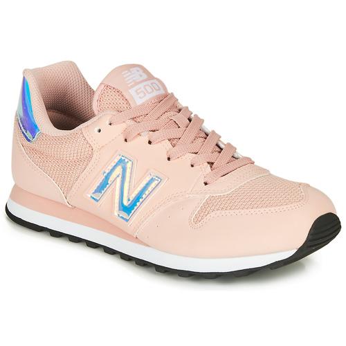 Čevlji  Ženske Nizke superge New Balance 500 Rožnata
