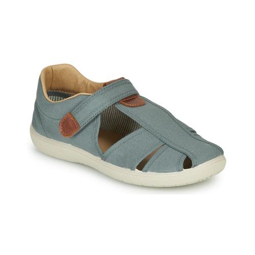 Čevlji  Dečki Sandali & Odprti čevlji Citrouille et Compagnie GUNCAL Siva