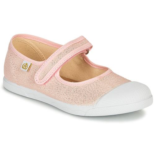 Čevlji  Deklice Balerinke Citrouille et Compagnie APSUT Rožnata