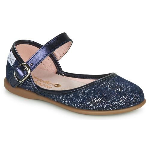 Čevlji  Deklice Balerinke Citrouille et Compagnie JARITO Modra