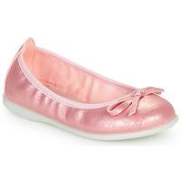 Čevlji  Deklice Balerinke Citrouille et Compagnie INOBALI Rožnata