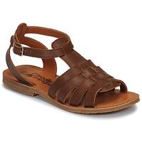 Čevlji  Deklice Sandali & Odprti čevlji Citrouille et Compagnie MINIBOU Kostanjeva