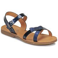 Čevlji  Deklice Sandali & Odprti čevlji Citrouille et Compagnie JISCOTTE Modra