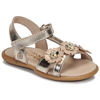 Čevlji  Deklice Sandali & Odprti čevlji Citrouille et Compagnie MARELLE Srebrna