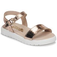 Čevlji  Deklice Sandali & Odprti čevlji Citrouille et Compagnie GAPOTI Bronze
