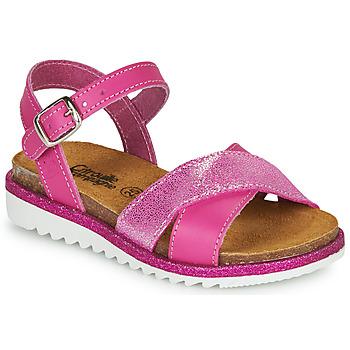 Čevlji  Deklice Sandali & Odprti čevlji Citrouille et Compagnie GAUFRETTE Rožnata