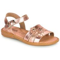 Čevlji  Deklice Sandali & Odprti čevlji Citrouille et Compagnie KATAGUE Bronze