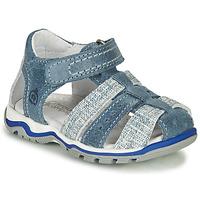 Čevlji  Dečki Sandali & Odprti čevlji Citrouille et Compagnie MARIOL Siva