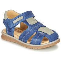 Čevlji  Dečki Sandali & Odprti čevlji Citrouille et Compagnie MABILOU Modra