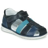 Čevlji  Dečki Sandali & Odprti čevlji Citrouille et Compagnie FRINOUI Modra