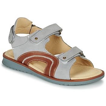 Čevlji  Dečki Sandali & Odprti čevlji Citrouille et Compagnie MASTIKO Siva