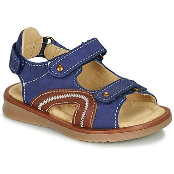 Čevlji  Dečki Sandali & Odprti čevlji Citrouille et Compagnie MASTIKO Modra