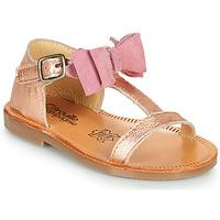 Čevlji  Deklice Sandali & Odprti čevlji Citrouille et Compagnie MELINDA Srebrna