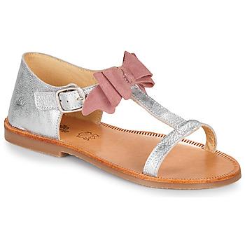 Čevlji  Deklice Sandali & Odprti čevlji Citrouille et Compagnie MELINDA Rožnata / Zlata