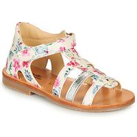 Čevlji  Deklice Sandali & Odprti čevlji Citrouille et Compagnie MIDINA Večbarvna