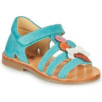 Čevlji  Deklice Sandali & Odprti čevlji Citrouille et Compagnie MIETTE Zelena