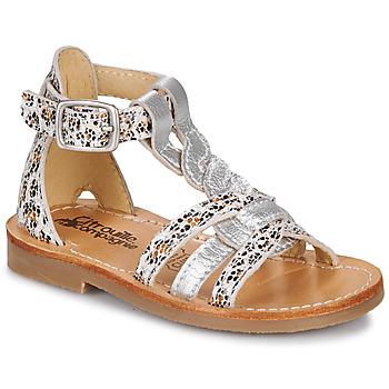 Čevlji  Deklice Sandali & Odprti čevlji Citrouille et Compagnie GITANOLO Kostanjeva