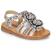 Čevlji  Deklice Sandali & Odprti čevlji Citrouille et Compagnie MALINETTE Kostanjeva