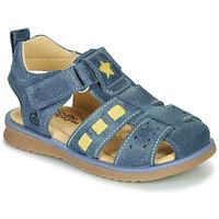Čevlji  Dečki Sandali & Odprti čevlji Citrouille et Compagnie MARINO Modra