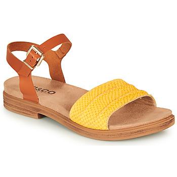 Čevlji  Ženske Sandali & Odprti čevlji IgI&CO 5170711 Cognac / Rumena