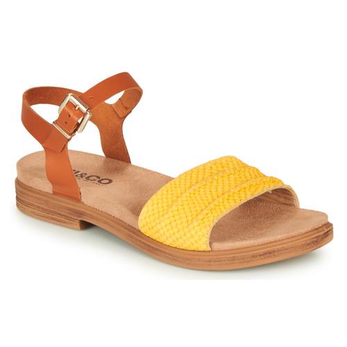 Čevlji  Ženske Sandali & Odprti čevlji IgI&CO  Cognac / Rumena