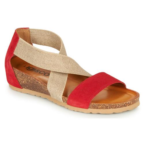 Čevlji  Ženske Sandali & Odprti čevlji IgI&CO  Rdeča