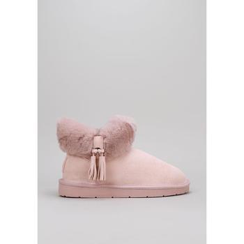 Čevlji  Ženske Škornji za sneg Krack  Rožnata