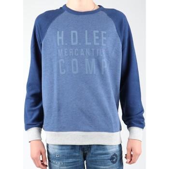 Oblačila Moški Flis Lee Graphic Crew SWS L80ODELR blue