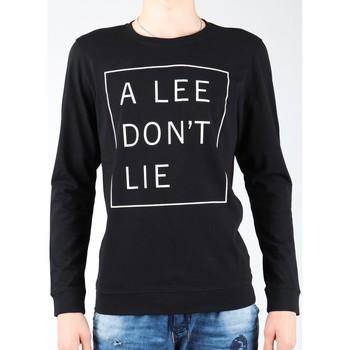 Oblačila Moški Majice z dolgimi rokavi Lee Don`t Lie Tee LS L65VEQ01 black, white