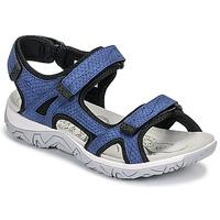 Čevlji  Ženske Športni sandali Allrounder by Mephisto LARISA Modra