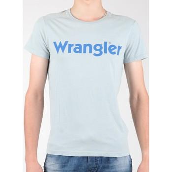 Oblačila Moški Majice s kratkimi rokavi Wrangler S/S Graphic Tee W7A64DM3E grey