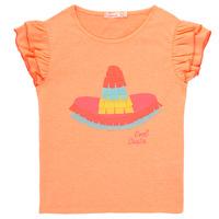 Oblačila Deklice Majice s kratkimi rokavi Billieblush / Billybandit NORE Oranžna