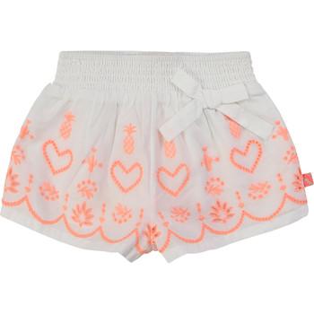 Oblačila Deklice Kratke hlače & Bermuda Billieblush / Billybandit NEYO Bela