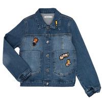 Oblačila Dečki Jeans jakne Billieblush / Billybandit NOTINIO Modra