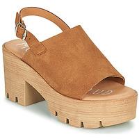 Čevlji  Ženske Sandali & Odprti čevlji Musse & Cloud TAIKI Cognac