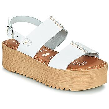 Čevlji  Ženske Sandali & Odprti čevlji Musse & Cloud KILA Bela