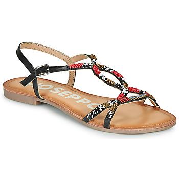 Čevlji  Ženske Sandali & Odprti čevlji Gioseppo PARISH Črna / Rdeča
