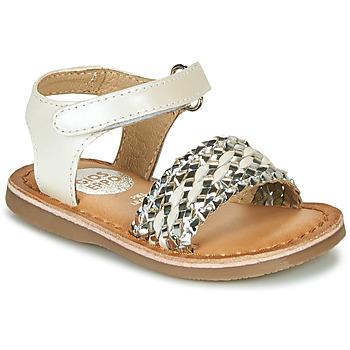 Čevlji  Deklice Sandali & Odprti čevlji Gioseppo VARESE Bela / Srebrna