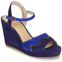 Čevlji  Ženske Sandali & Odprti čevlji André LA JONGLEUSE Modra