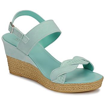Čevlji  Ženske Sandali & Odprti čevlji André ELOISE Modra