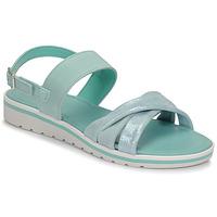 Čevlji  Ženske Sandali & Odprti čevlji André POLINE Modra