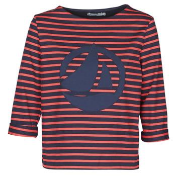 Oblačila Ženske Topi & Bluze Petit Bateau  Rdeča