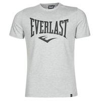 Oblačila Moški Majice s kratkimi rokavi Everlast EVL LOUIS SS TS Siva