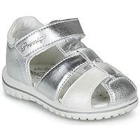 Čevlji  Deklice Sandali & Odprti čevlji Primigi 5365555 Srebrna