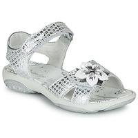 Čevlji  Deklice Sandali & Odprti čevlji Primigi  Srebrna