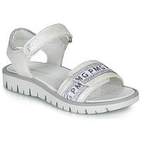 Čevlji  Deklice Sandali & Odprti čevlji Primigi 5386700 Bela / Srebrna