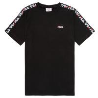 Oblačila Otroci Majice s kratkimi rokavi Fila FREDDY Črna
